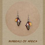 Minerals of Africa - Earrings - EA-MOF-100