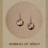 Minerals of Africa - Earrings - EA-MOF-102