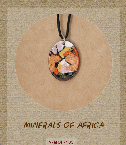 Minerals of Africa - Necklace - N-MOF-105